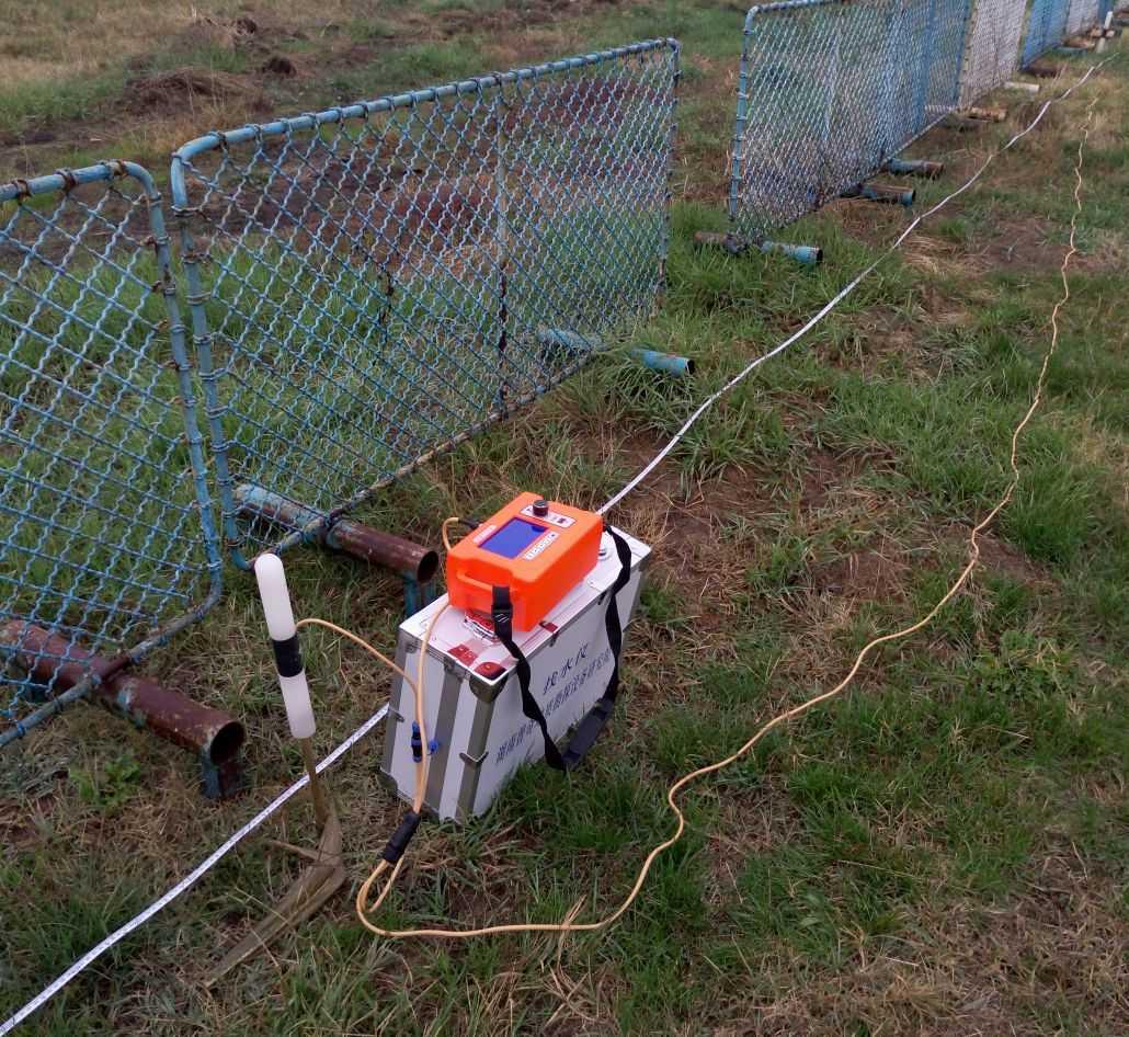 Геофизично измерване при търсене на вода